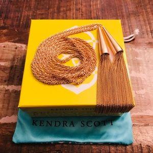 NWT Kendra Scott Rose Gold Phara Necklace